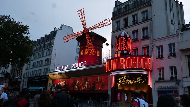 Free paris moulin rouge pleasure variety red mill