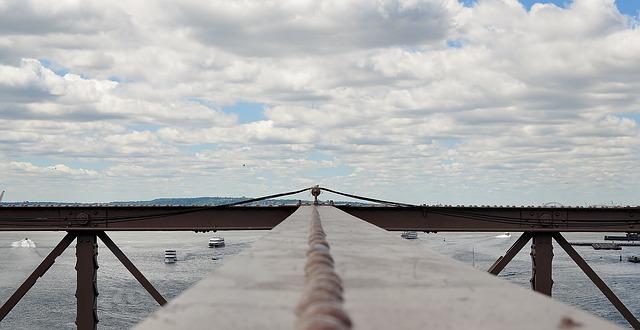 Free bridge manhattan brooklyn new york architecture