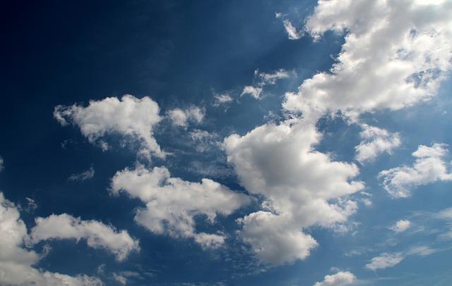 Free clouds cloud cumulus clouds blue steel blue sunny