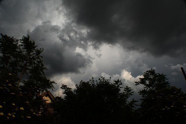 Free cloud storm rain clouds sky weather