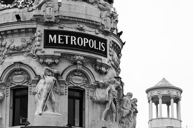 Free metropolis madrid building city architecture