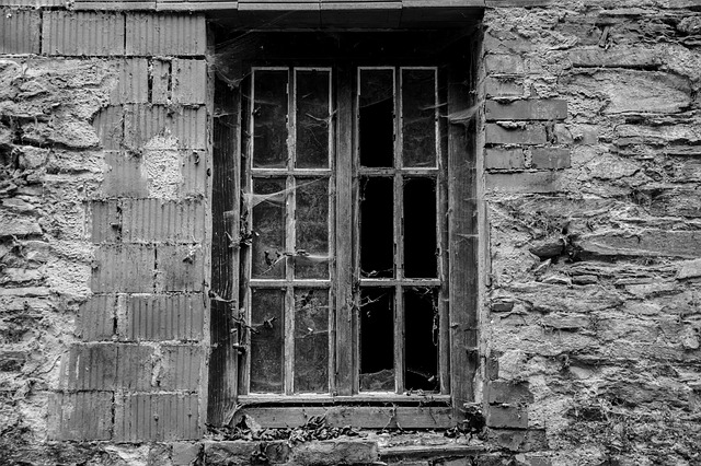 Free window leave brittle ruin decay dilapidated disc