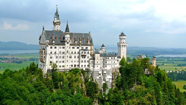 Free neuschwanstein castle summer holiday holidays trip