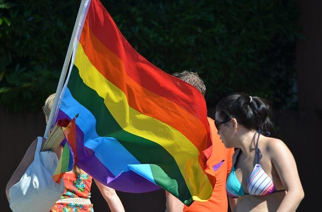 Free rainbow flag flag colorful