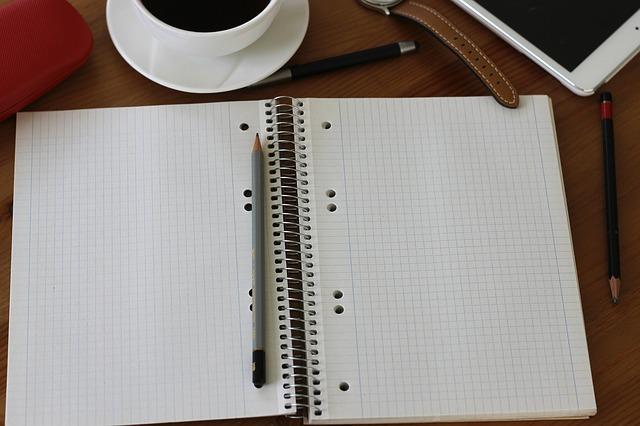 Free note coffee pencil pen