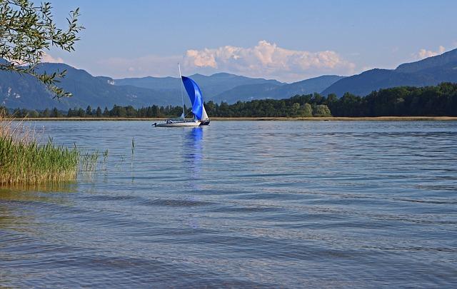 Free landscape chiemgau chiemsee see sailing vessel