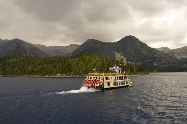 Free lake tahoe boat ferry water landscape nature