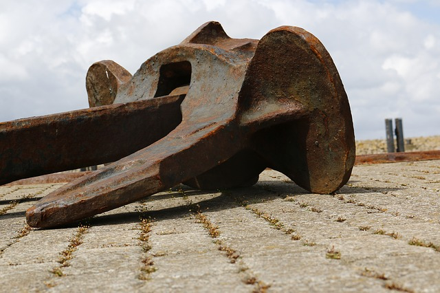 Free anchor north sea ship quay wall port stainless