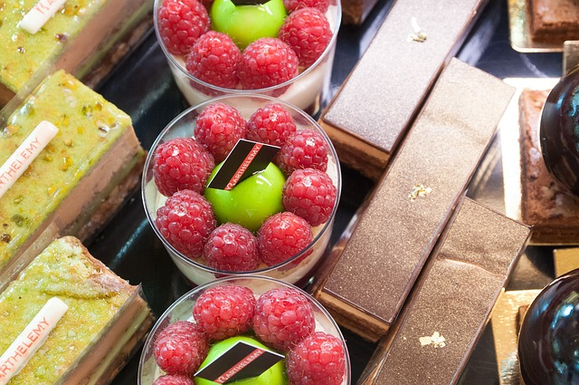 Free french pastries france fruit raspberries chocolate