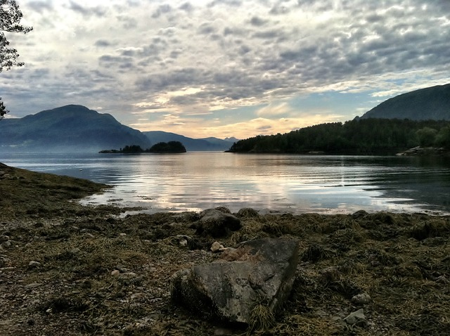 Free fjord norway scandinavia landscape nordic sea