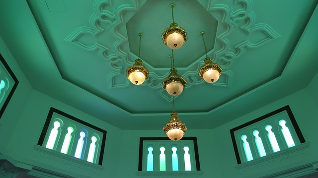 Free mosque interior malaysia building