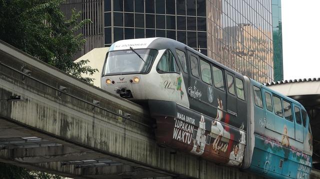 Free monorail train malaysia transport