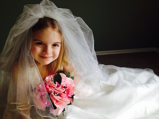 Free wedding dress child girl little girl pretty dress