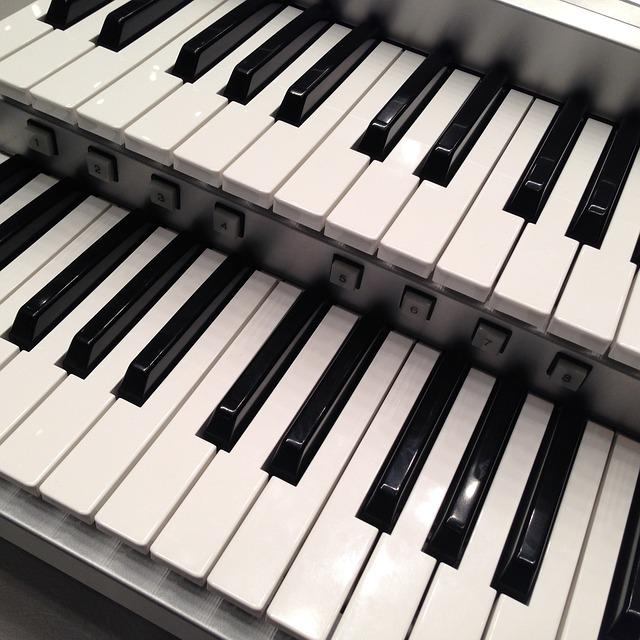 Free musical instruments keyboard electronic organ