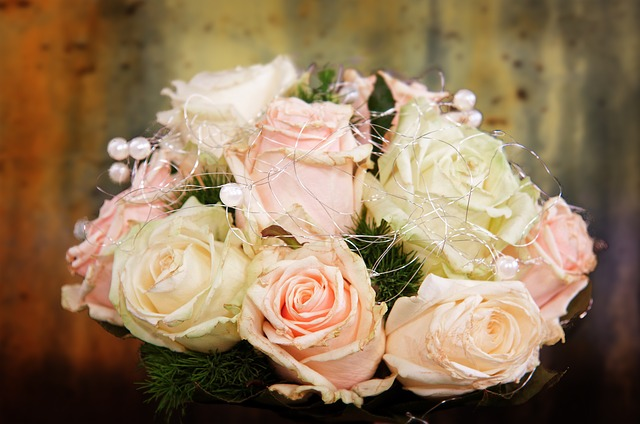 Free wedding bouquet bouquet roses bridal bouquet