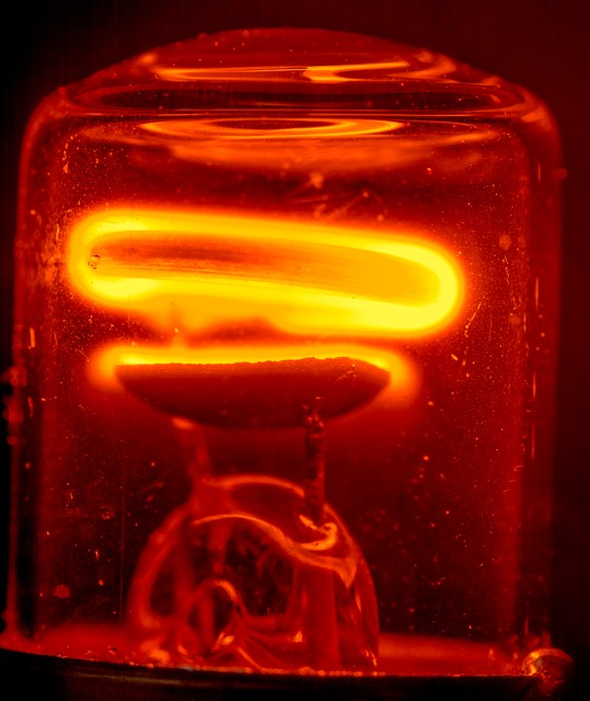 Free glow lamp light light bulb glow filament glow wire