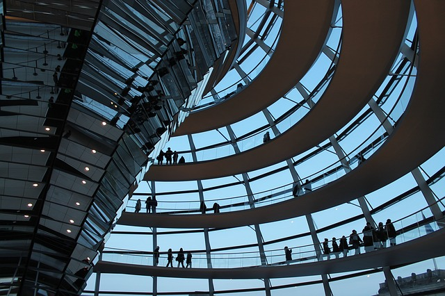 Free reichstag glass dome bundestag architecture berlin