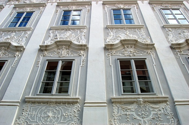 Free austria old town architecture stucco stucco façade
