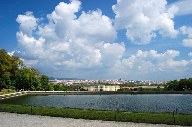 Free vienna schönbrunn castle park gloriette view