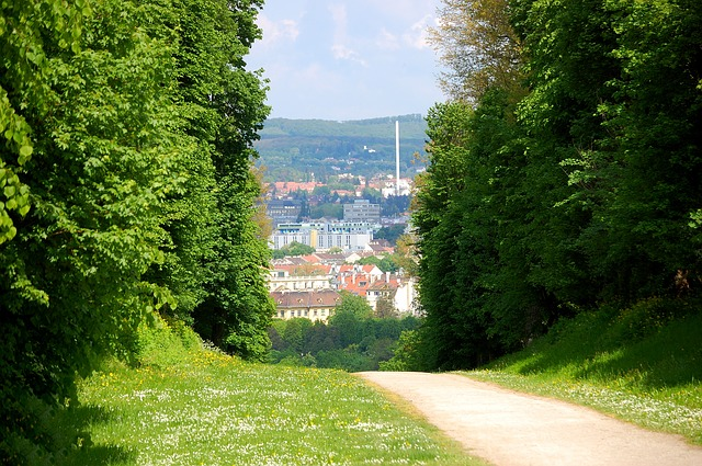 Free vienna schönbrunn castle park trail away nature