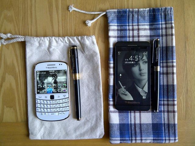 Free smartphone blackberry phone office
