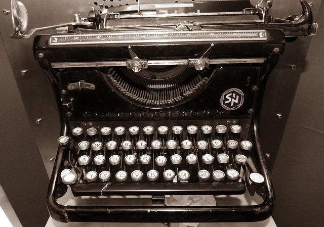 Free machine writing writer book monument typewriter
