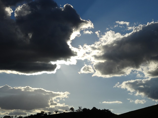Free landscape cloud horizon sunset