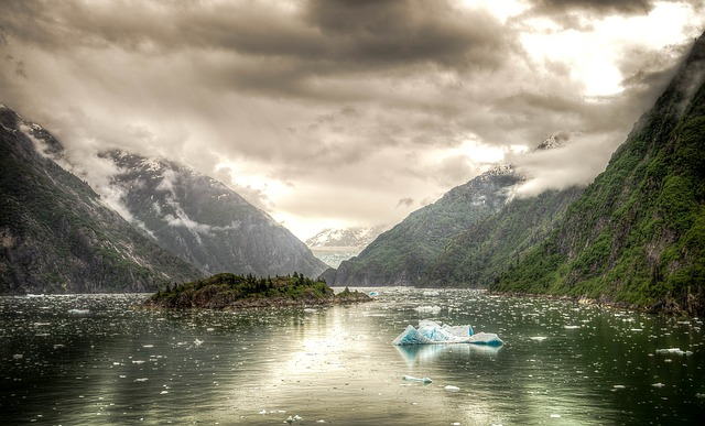 Free tracy arm fjord alaska juneau mountains scenic