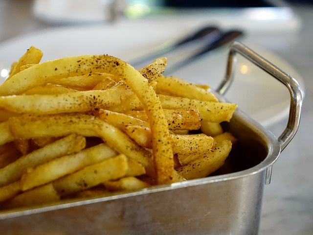 Free french fries fried potato snack junk food food