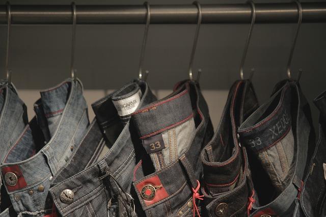 Free jeans shopping cloth texture fashion
