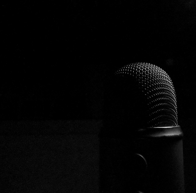 Free microphone dark audio micro recording sound
