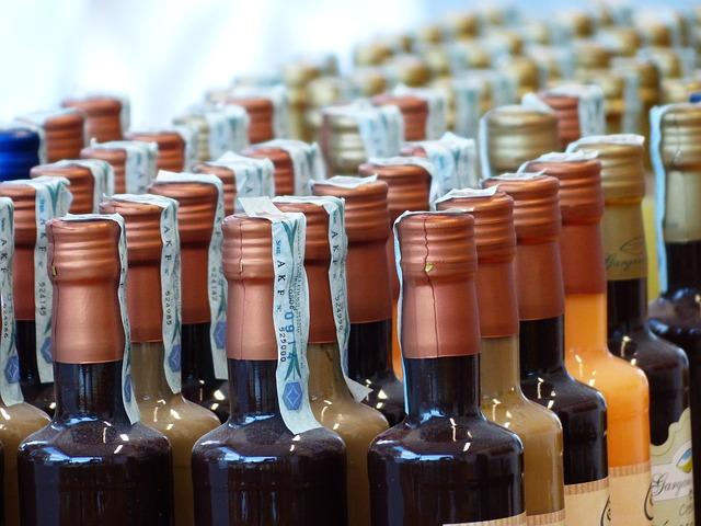 Free bottles closure wine bottles liqueurs