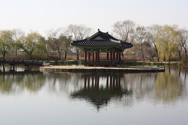 Free belvedere building republic of korea lake natural