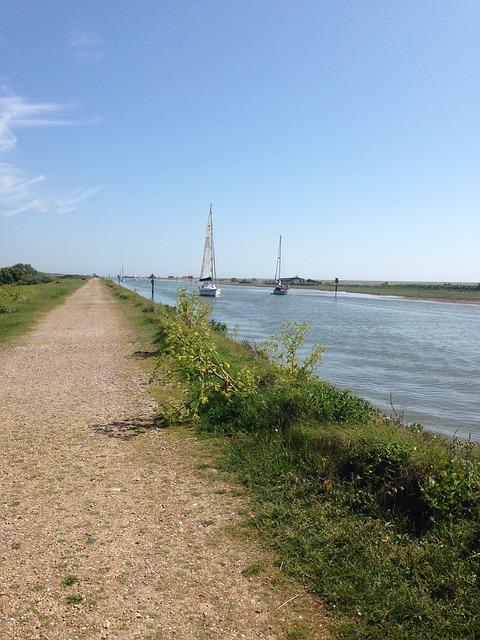 Free rye sunny sea england