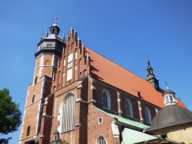 Free church kazimierz kraków monument buildings