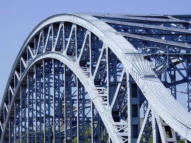 Free bridge metal fence bay spams bridges building