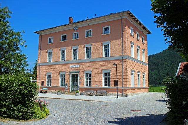 Free railway station place aschau chiemgau