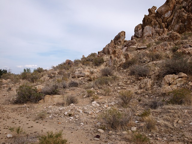 Free desert landscape scenic rocks outcrops outside
