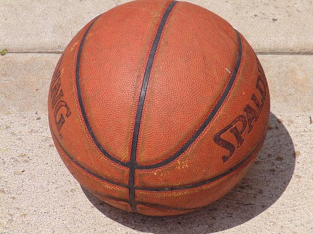 Free basketball sports ball closeup