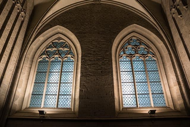 Free               church window church stained glass window window
