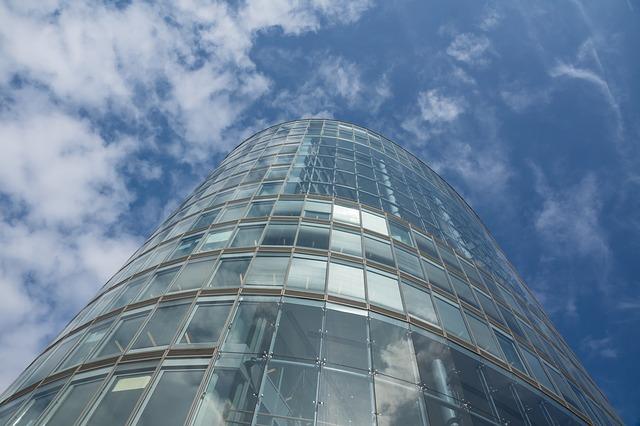 Free skyscraper building architecture city office