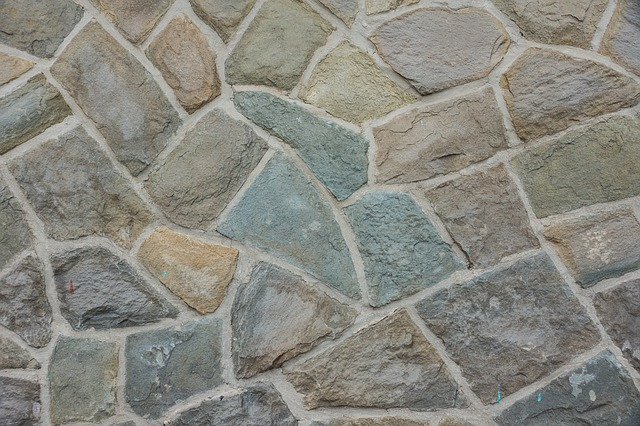 Free texture structure wall paving stones stone wall