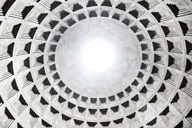 Free pantheon rome blanket roof hall construction