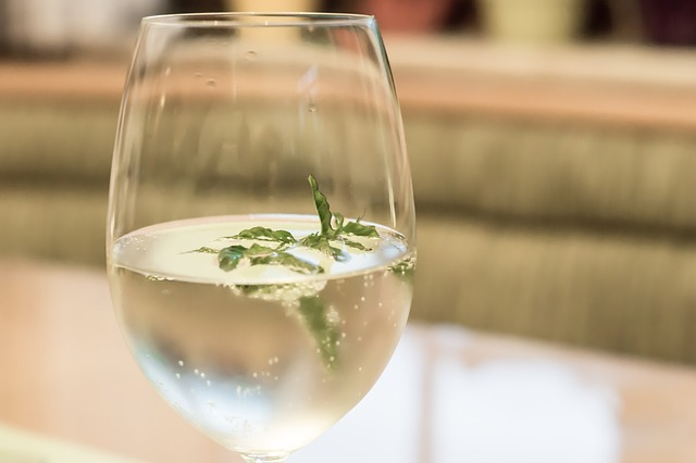 Free hugo drink aperol spritz herb fruity glass