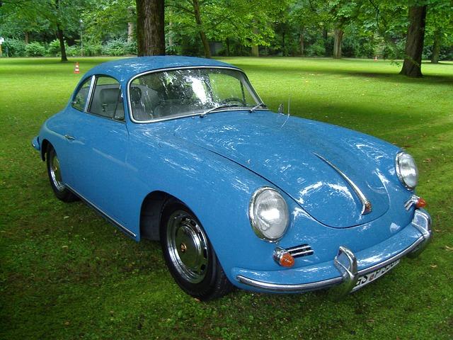 Free oldtimer automotive sports car