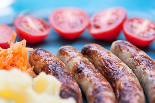 Free bratwurst sausage grill sausages grill sausage meat