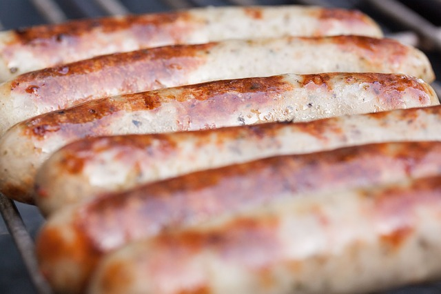 Free sausages sausage bratwurst barbecue grill heat