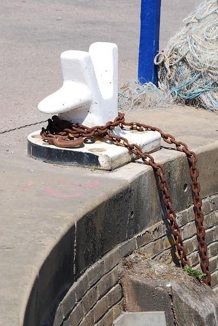 Free bollard mooring harbor chain port