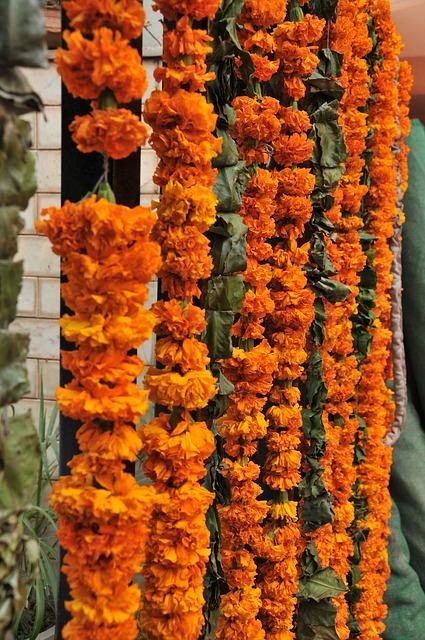 Free flowers garland decoration marraige india