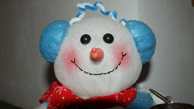 Free snow man christmas christmas eve white face smile